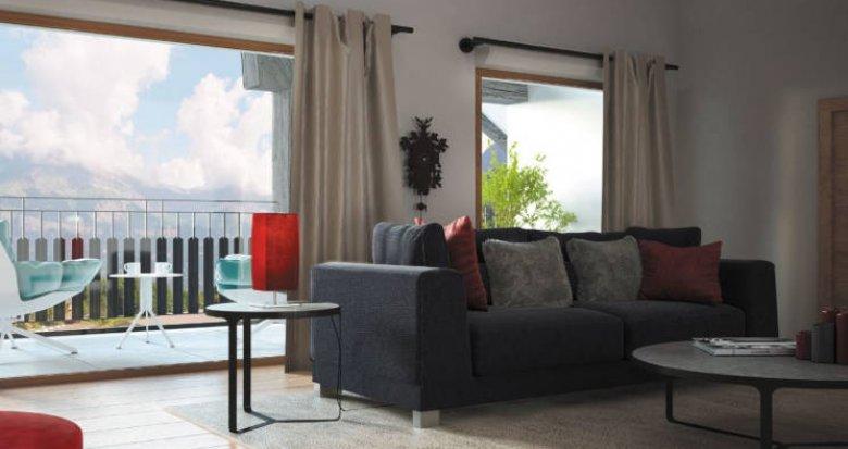 Achat / Vente appartement neuf Saint-Gervais-les-Bains au pied de la télécabine du Bettex (74170) - Réf. 3013