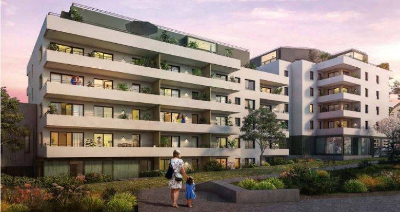 Achat / Vente appartement neuf Saint-Julien-en-Genevois  proche centre (74160) - Réf. 5222