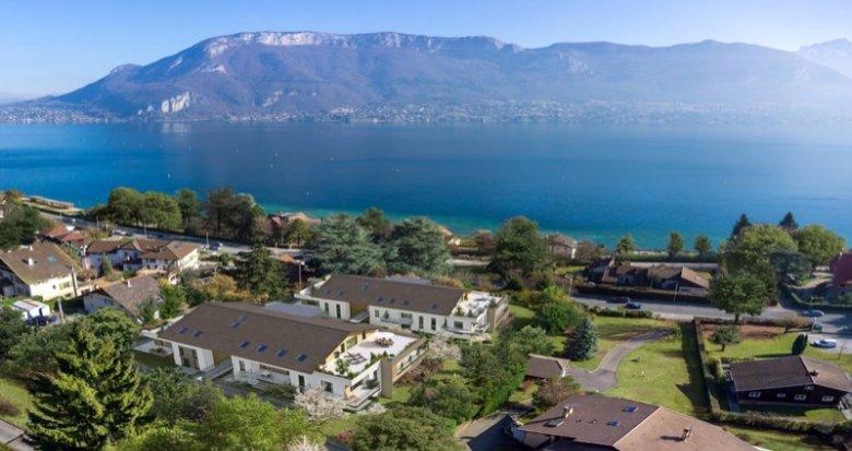 Achat / Vente appartement neuf Sevrier proche du lac d'Annecy (74320) - Réf. 627