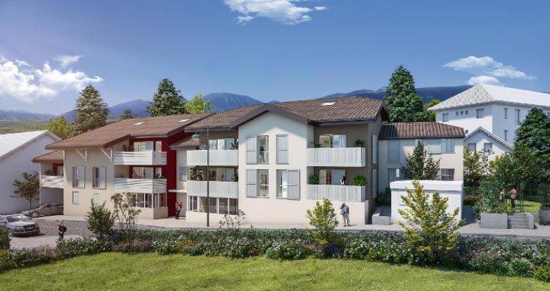 Achat / Vente appartement neuf Thonon-les-Bains proche port (74200) - Réf. 5902