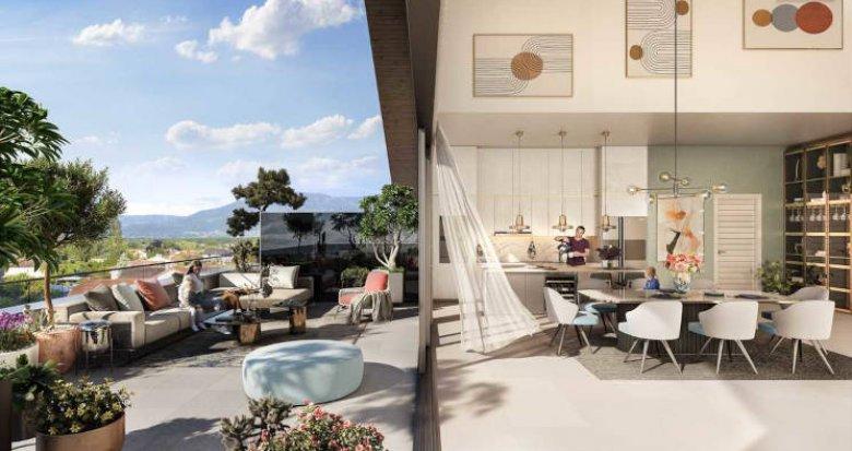 Achat / Vente appartement neuf Veigy-Foncenex à deux pas de la frontière Suisse (74140) - Réf. 5993