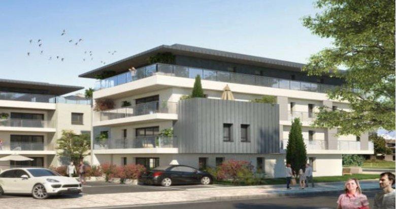 Achat / Vente appartement neuf Veigy-Foncenex proche centre (74140) - Réf. 4508