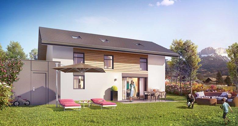 Achat / Vente appartement neuf Villaz proche d'Annecy (74370) - Réf. 1734